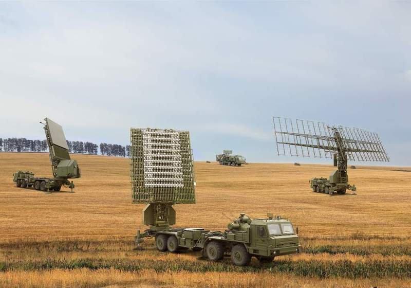 Средства радиолокационного комплекса 55Ж6М