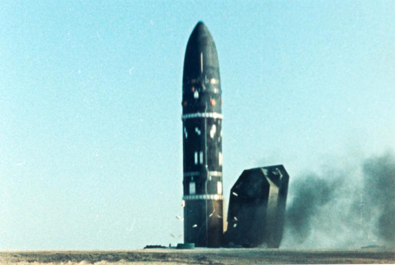 Пуск ракеты Р-36М2