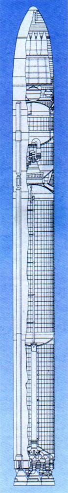 Устройство ракеты Р-36М2