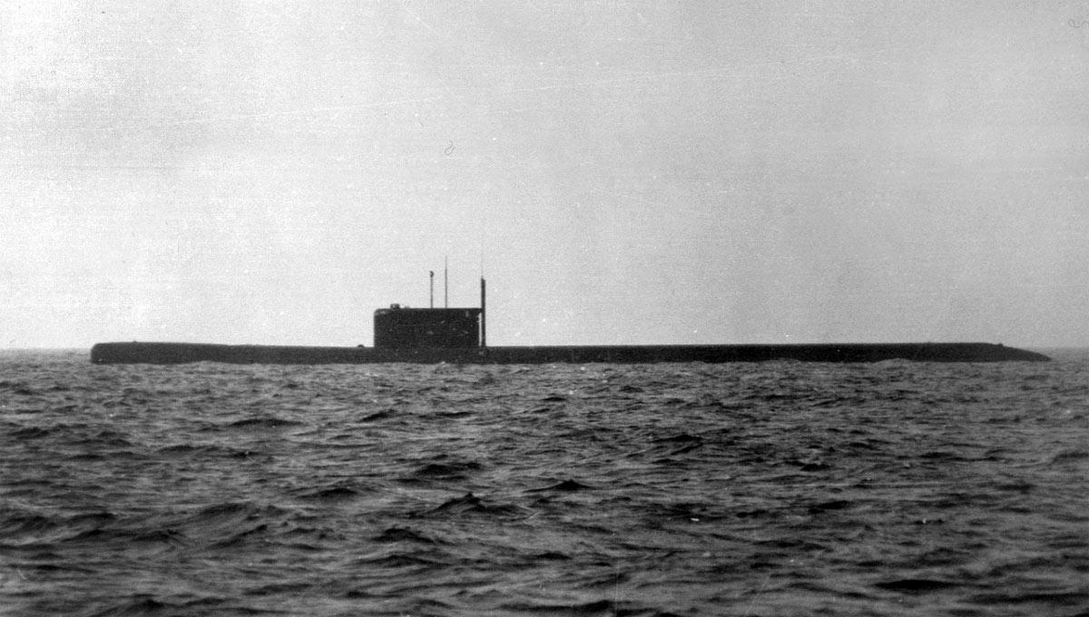 Атомная подводная лодка-носитель АГС КС-86 пр.675Н (http://oosif.ru)