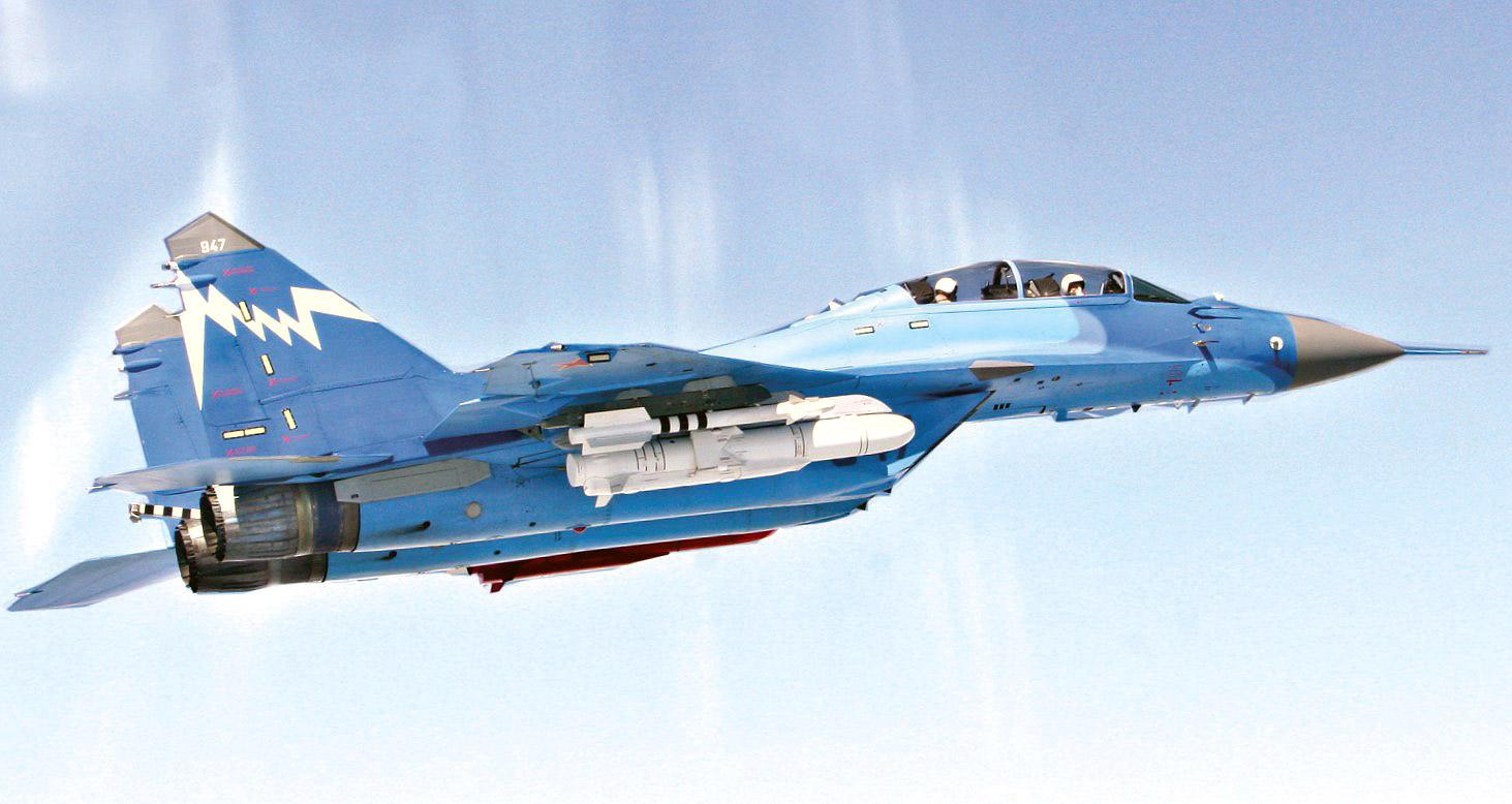 Испытания ракеты Х-35У с носителя МиГ-29КУБ (Вестник КТРВ. №8 / 2015 г.)