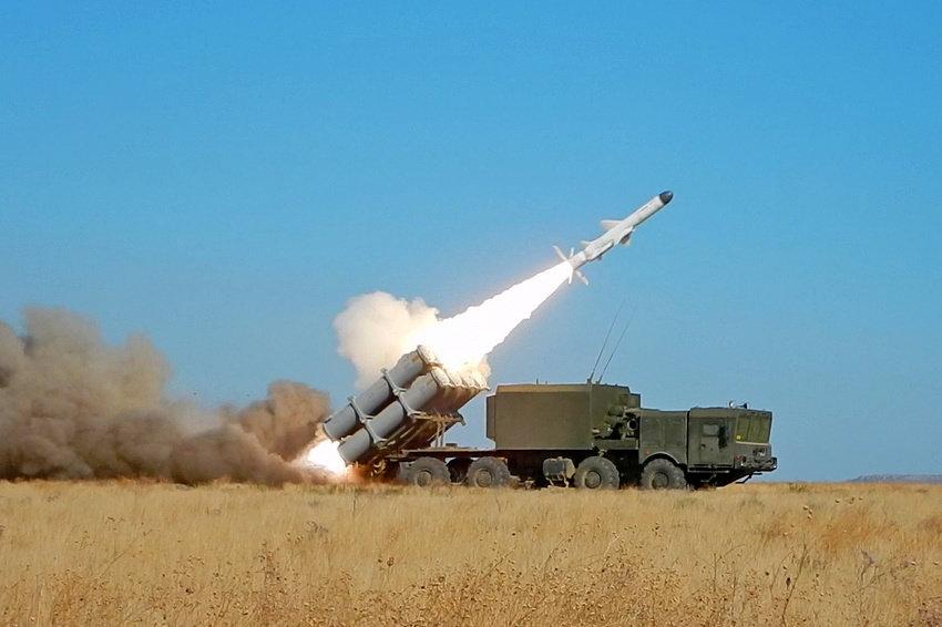 Пуск ракеты комплекса 3К60