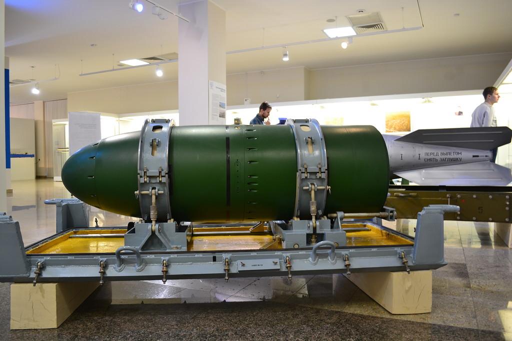 Ядерное боевое отделение торпеды САЭТ-60А в Челябинском краеведческом музее (http://rocket-history.livejournal.com)