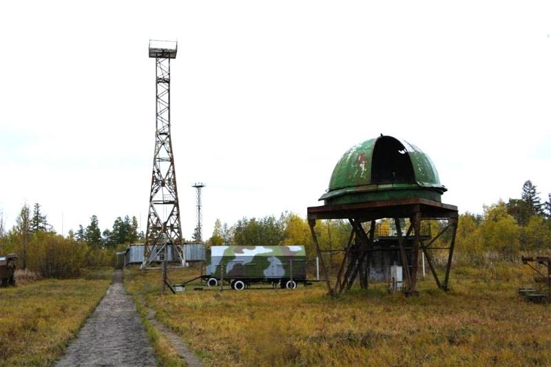 Территория объекта ДИП на полигоне Кура, Камчатка. В 1988 г. рядом - на объекте ДИП-1 - предположительно проходила испытания система ПРО