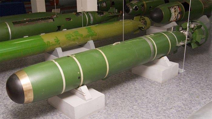 Торпеда УМГТ-1М в Музее
