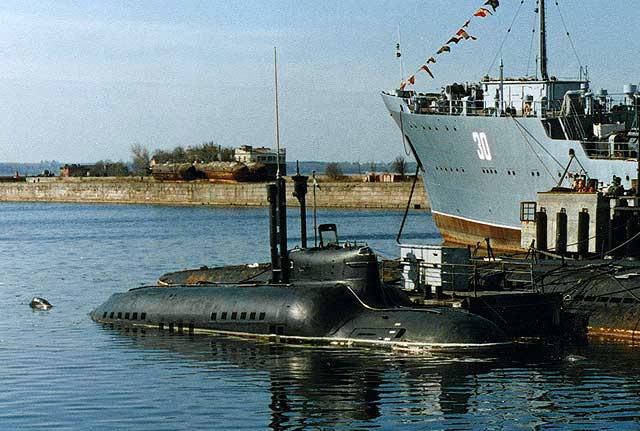 Подводная лодка МС-521 проекта 865